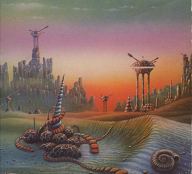 "Cover Art from Danny Flynn for ""Starship Troopers"""
